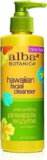 Alba Botanica Hawaiian, Pineapple Enzyme Facial Cleanser, 8 Ounce