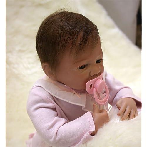 Terabithia 18 Pulgadas Lifelike Linda Collectible Reborn Baby Girl Boy Dolls
