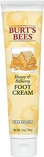 Burt's Bees Honey & Bilberry Foot Cream - 4 Ounce Tube