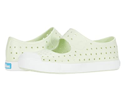 Native Kids Shoes Juniper (Little Kid) (Cucumber Green/Shell White) Girls Shoes