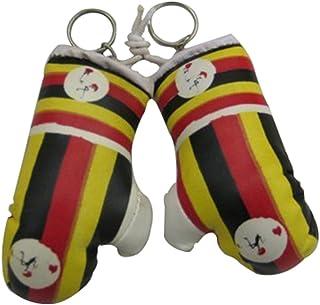 Uganda Mini Small Boxing Gloves - 3 Pieces