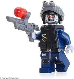 The LEGO Movie MiniFigure - Robo SWAT (w/ Robot Goggles) Set 70808