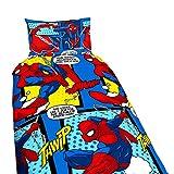 Acolchado reversible para cama de niño del Hombre Araña, original de Marvel y...