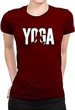 PrintOctopus Graphic Printed T-Shirt for Women   Yoga Tshirt   Half Sleeve T-Shirt   Round Neck T Shirt   Top for Girls   100% Cotton T-Shirt   Short Sleeve T Shirt
