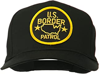 US Border Patrol Embroidered Patch Cap