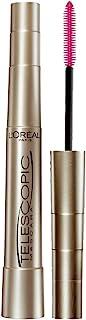 L'Oreal Paris Makeup Telescopic Original Lengthening Mascara, Blackest Black, 0.27 Fl Oz (1 Count)