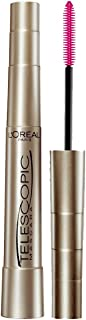 L'Oréal Paris Makeup Telescopic Original Lengthening Mascara, Blackest Black, 0.27 Fl Oz (1 Count)