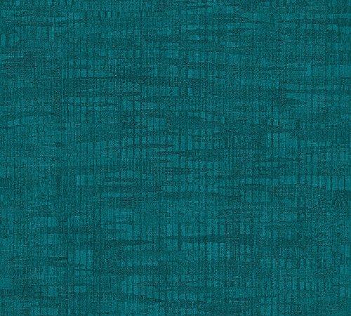 Livingwalls Vliestapete Revival Tapete Vintage Optik Ethno Look 10,05 m x 0,53 m blau Made in Germany 327353 32735-3