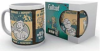 GB eye Ltd, Fallout 4, Vault Posters, Mug, Wood, Various, 15x10x9 cm