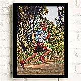 Refosian Forrest Gump Klassiker Hd Star Wandkunst