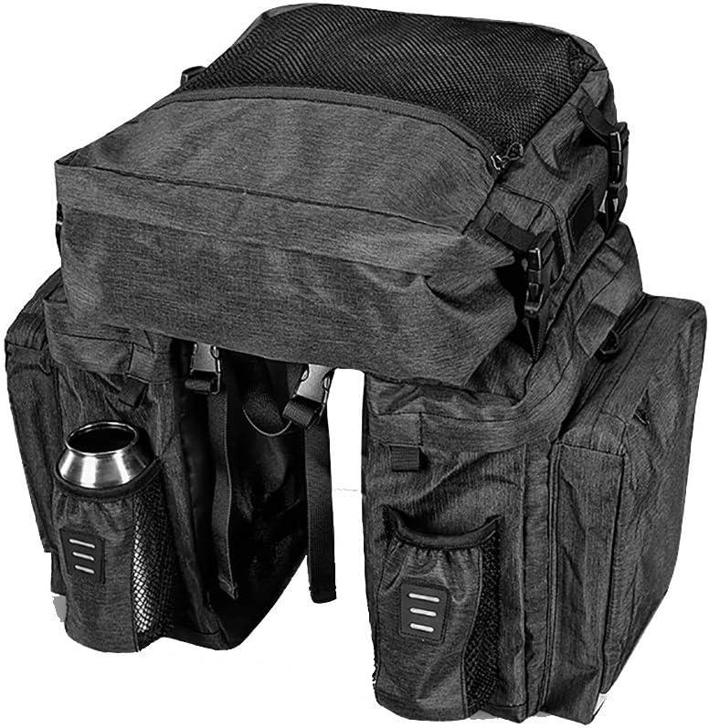 HLR 35% OFF Bike Panniers Store Rack Trunks Bicycle Duffel Seat 36L Rear Bag
