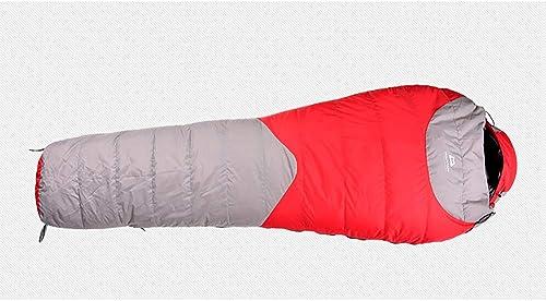 CX ECO Momie Sacs de Couchage en Duvet Sac de Couchage Camping randonnée Sac de Couchage imperméable Confortable Se convertit en 2 Sacs de Couchage imperméable