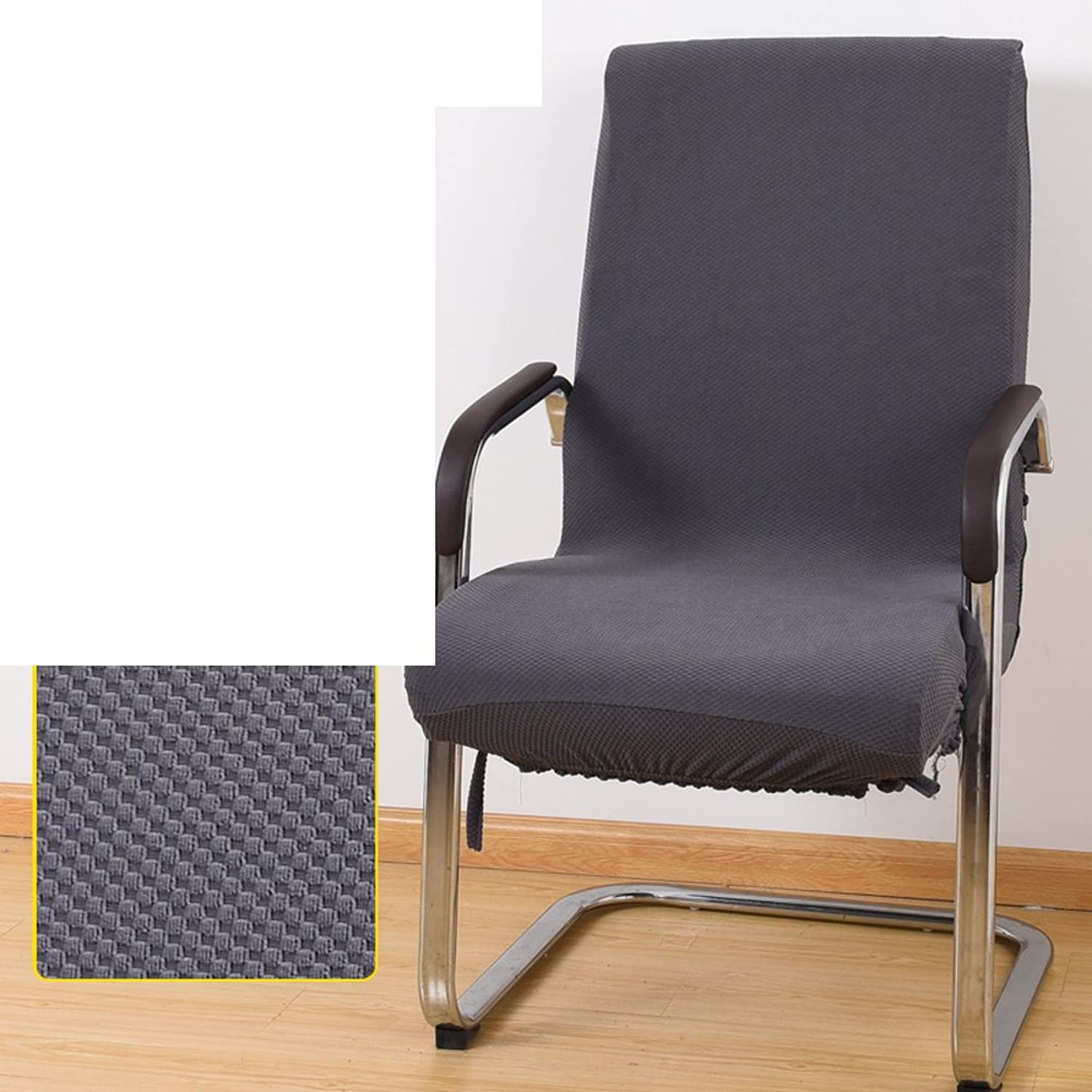 Office computer chair covers Boss chairs cover Armrest seat covers Fabric stool One-piece spandex chair covers-E