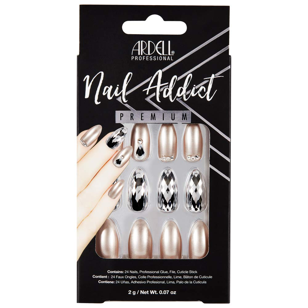 Ardell Nail Addict Artificial Manufacturer OFFicial shop Set Sale price Ice Champagne