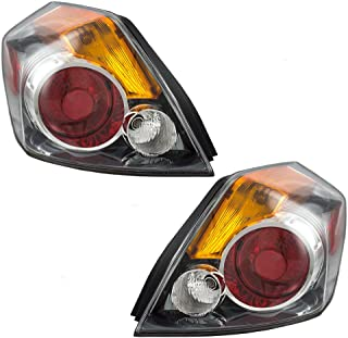 Driver and Passenger Taillights Tail Lamps Replacement for 07-12 Nissan Atlima Sedan 26555-