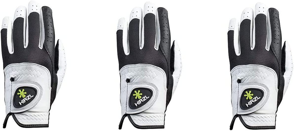 Special Max 43% OFF price HIRZL GRIPPP FIT – Women's Glove All-Weather Black White Golf