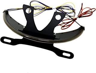 LED Fender Turn Signal Kit Smoked Lens&Tag Light&Bracket For Victory 2003-2017