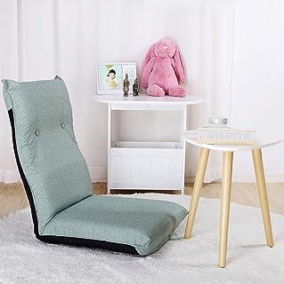 YQQ-sofá Perezoso Comodidad Elegante Multiángulo Silla De Piso con Respaldo Ajustable TV Floor Chair Floor Gaming Chair Silla De Meditación Silla De Lectura (Color : C)