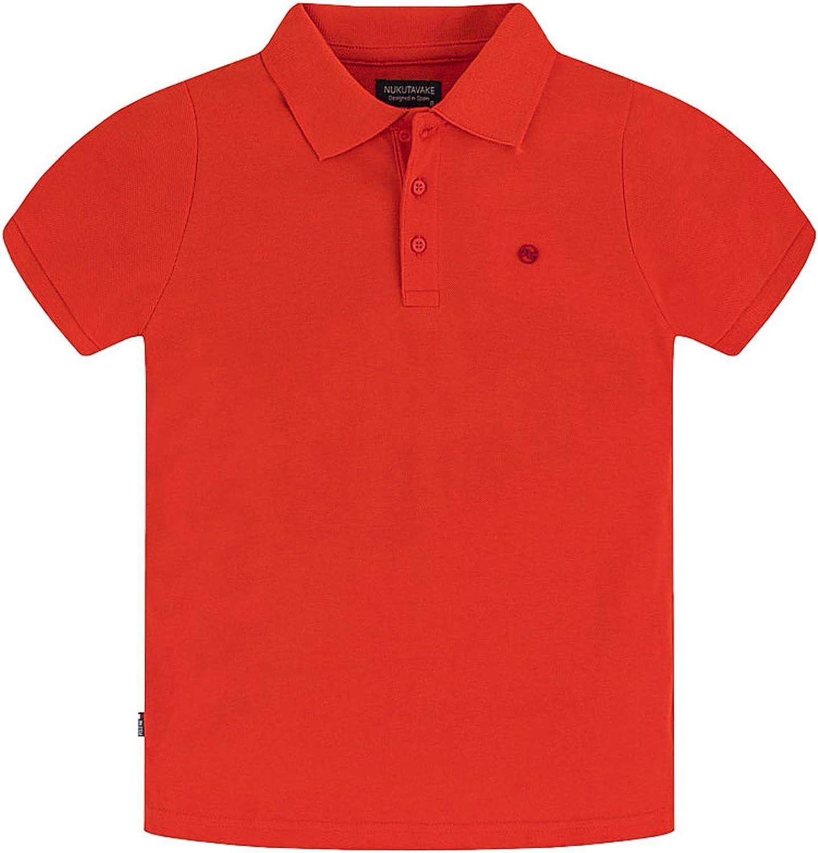Mayoral - Basic s/s Polo for Boys - 0890, Cayena