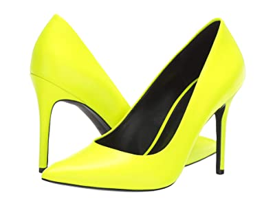 MICHAEL Michael Kors Claire Pump (Neon Yellow) Women
