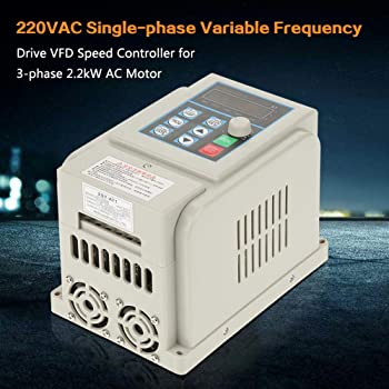 Inverter inverter monofase a frequenza variabile monofase trifase da 220 kW CA inverter VFD per motore trifase