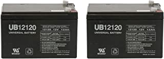 12V 12Ah F2 NEW BATTERY FOR EZIP SCOOTER 750, 900, 1000 - 2 Pack