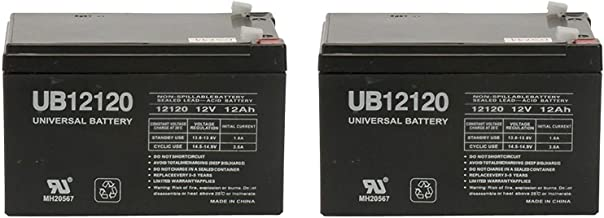 12V 12Ah F2 Costco 360 Eco Electric Scooter Battery - 2 Pack