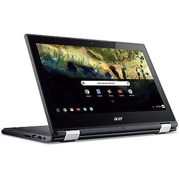 "Acer Chromebook R 11 Convertible Laptop, Celeron N3060, 11.6"" HD Touch, 4GB DDR3L, 32GB eMMC, C738T-C7KD (Renewed)"