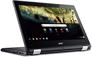Latest_Acer Chromebook R 11 Convertible Laptop, Intel Celeron N3060, 11.6 HD Touch, 4GB RAM, 32GB eMMC SSD, Google Chrome OS