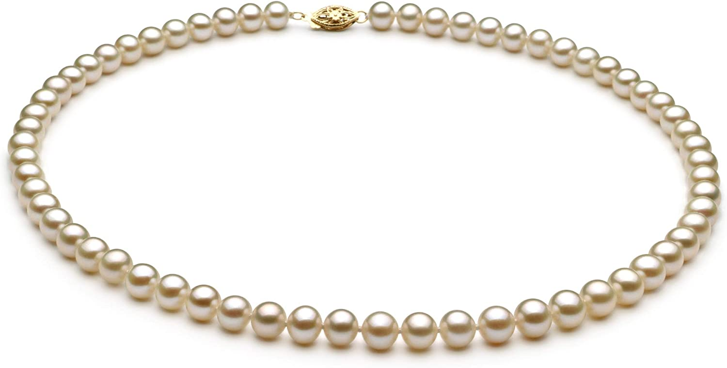 White 6-7mm AA Quality Freshwater Spring new work one after another Pearl Wo for Factory outlet Cultured Necklace