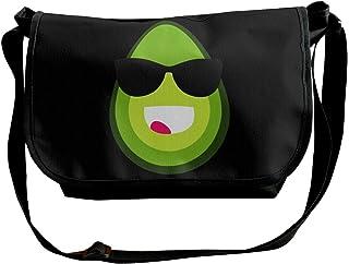 BUGKHD Cool Avocado Bolso bandolera de hombro para hombres y mujeres, bolsa de mensajero de moda para ir de compras, estud...