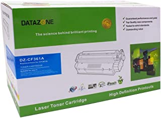 Datazone CYAN laser Toner Compatible for printers M553n/553X/553dn/ M552dn/ M577dn/M577f/M577z CF361A (508A)