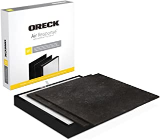 Oreck Certified HEPA Media + Odor Control Replacement Filter Kit Type B1 AK46000 for Air Response Small WK16000