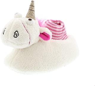 Minions Movie Fluffy Unicorn Kids Girls Sock Top Slippers (Toddler)