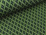 Albstoffe Hamburger Liebe Bliss 3D Fence Knit Olivia-Blue