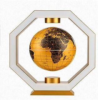 LQQFF Útiles Escolares Globe, polígono maglev Arte decoración decoración de la habitación Regalo Creativo 6 Pulgadas (Color : Oro)
