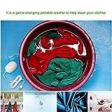 Mini Ultraschall Waschmaschine Campingwaschmaschine Beste für sauberes Tuch Obst Gemüse und Geschäftsreise - 6