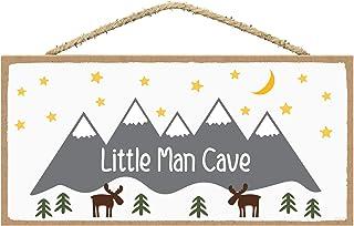 Nursery Decor for Boys - Baby Boy Nursery Decor - Toddler Boy Room Decor - Boy Nursery Wall Decor - Little Man Cave Sign 5...