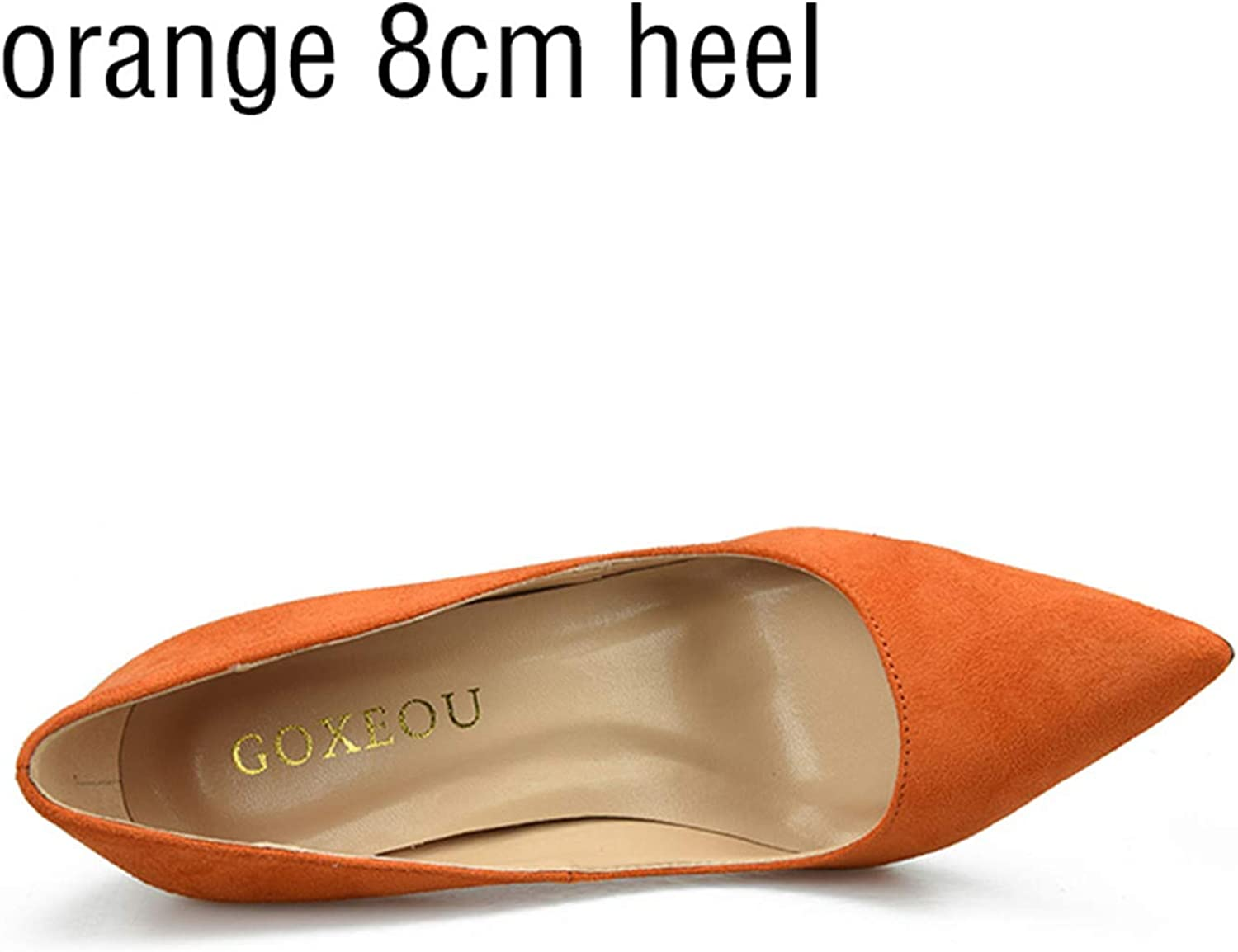 10Cm Pointed Toe Stiletto Heels Pumps Ladies Stylish High Heels shoes