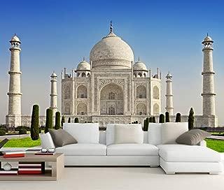Lwcx Custom 3D Mural Temples India Taj Mahal Mosque City Photo Wallpaper Living Room Tv Wall Kitchen Bedroom Restaurant 3D Wallpaper 200X140CM