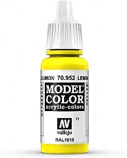 Vallejo Acrylic Paint, Lemon Yellow