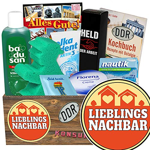 Lieblingsnachbar / Geschenk Nachbarn / DDR Pflegeset