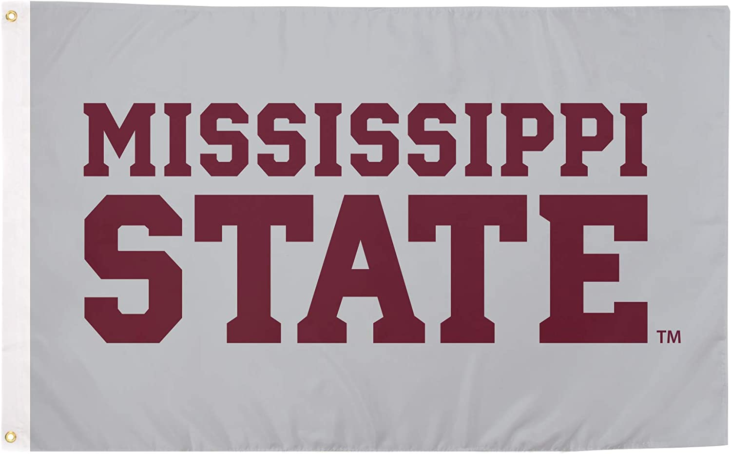 Desert Cactus Mississippi State University 100% Polyester Indoor Outdoor 3 feet x 5 feet Flag (Style 8)