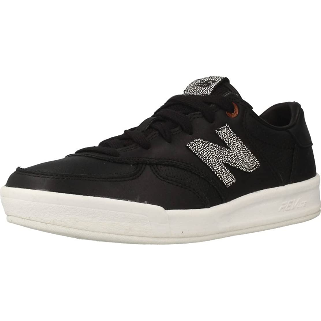 工場回転させる習熟度(6.5 B UK, Black/Silver Mink) - New Balance Women's 300 Trainers