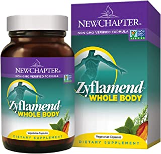 New Chapter Zyflamend Whole Body 120 Vegetarian Capsules