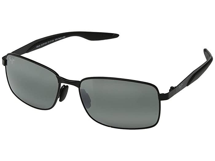 Maui Jim Shoal (Gunmetal Black/Neutral Grey) Sport Sunglasses