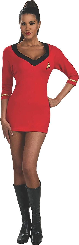 Rubies Costume Secret Wishes Women's Star Trek Uhura, Red, XSmall