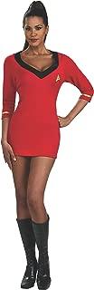 Secret Wishes Star Trek Womens Red Uniform