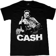 Johnny Cash Flippin' the Bird Music T-Shirt Tee