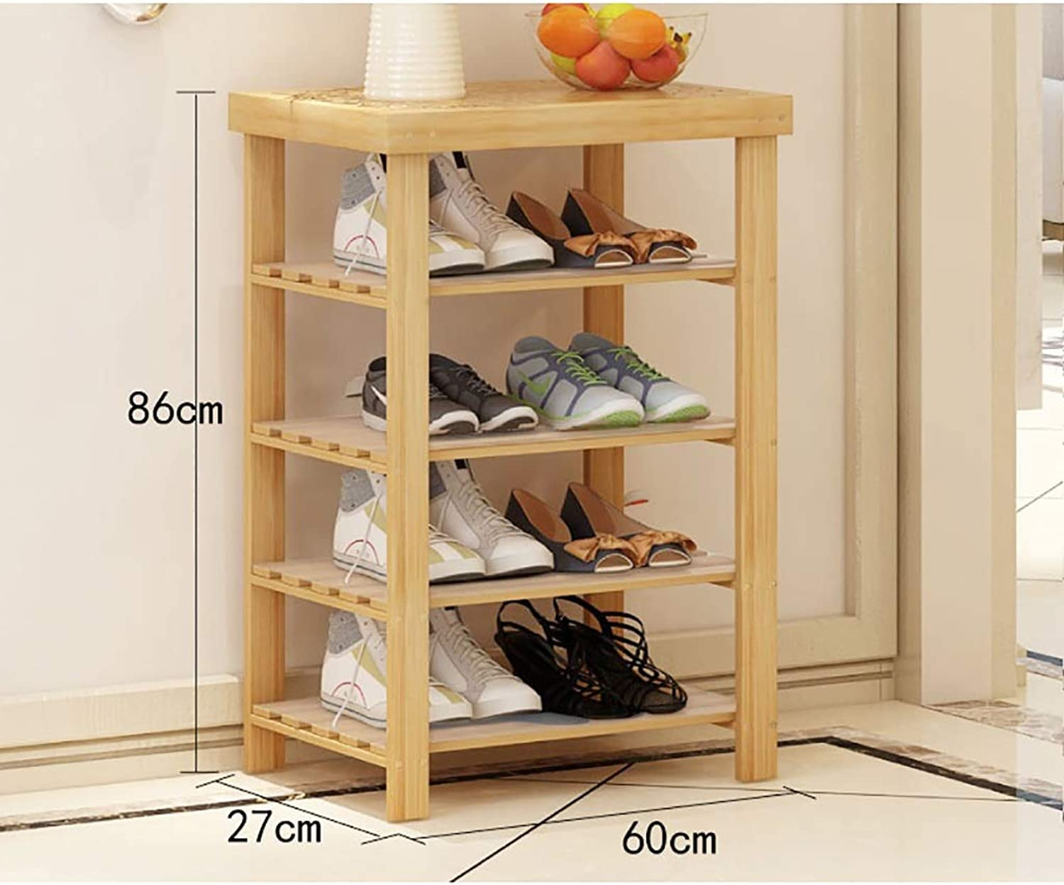 shoes Rack Simple Modern Home Change shoes Stool shoes Cabinet Sofa Stool into The Door Long Bench Storage Stool Rest Stool. (Size   60  27  86cm)